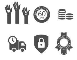 nº 14 pour Design 6 simple Icons par babarhossen
