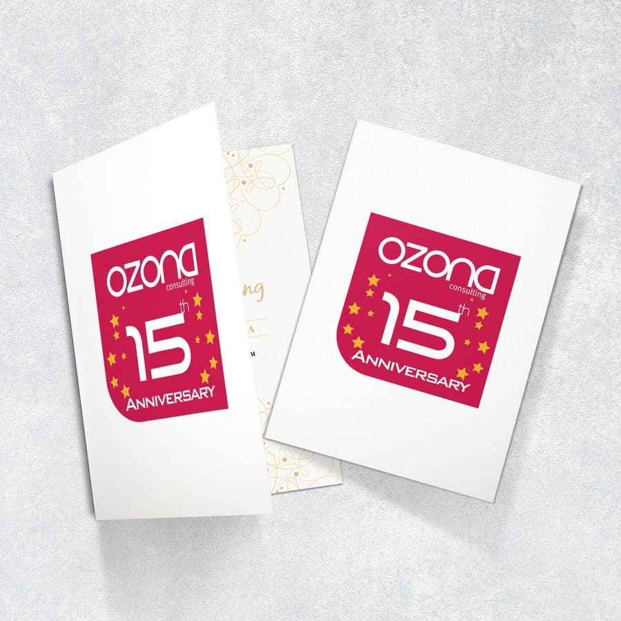 Proposition n°83 du concours Logo variation to celebrate 15th Anniversary
