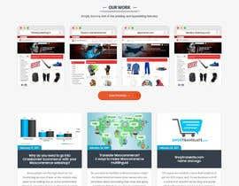 Nro 40 kilpailuun Design website mockups for translation / shop management software käyttäjältä engmao97