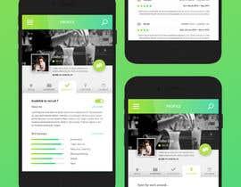 Nro 32 kilpailuun Design an App Mockup to replace an existing design käyttäjältä KsWebPro