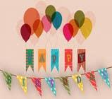 Graphic Design Kilpailutyö #30 kilpailuun Design a Happy Birthday Banner