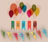 Graphic Design Kilpailutyö #55 kilpailuun Design a Happy Birthday Banner