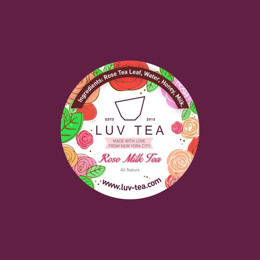 Proposition n°66 du concours Tea Drink Label