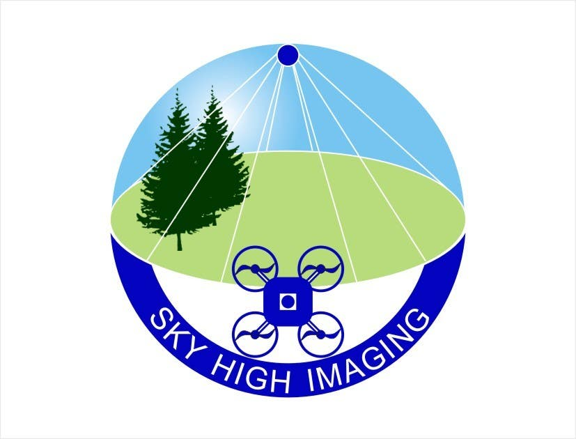 Contest Entry #42 for Nature Inspired Logo Needed for My New Drone Flying Company: Sky High Imaging.