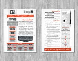 Nro 5 kilpailuun Software Information Sheet käyttäjältä fler