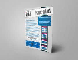 #19 for Software Information Sheet by Hcreativestudio