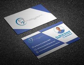 nº 314 pour Design Dental Business Cards par Designerabbas