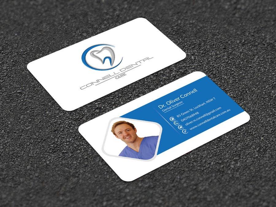 Entry #123 by joney2428 for Design Dental Business Cards | Freelancer