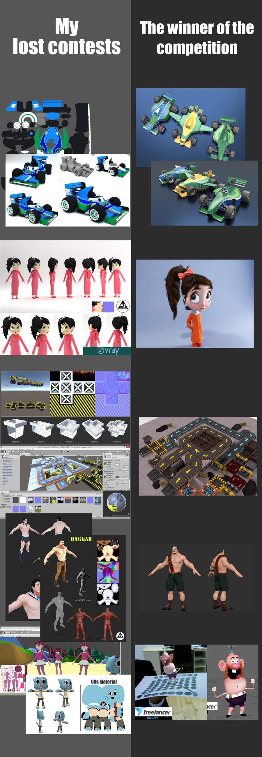 Proposition n°3 du concours 3D model advanced improvement