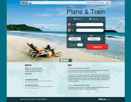 Huntresss tarafından Website Design for International travelplanner: www.airjag.com için no 55