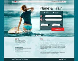 Huntresss tarafından Website Design for International travelplanner: www.airjag.com için no 48