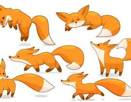 #42 for Fox Illustration - New 10 poses/positions by Talitaphoto