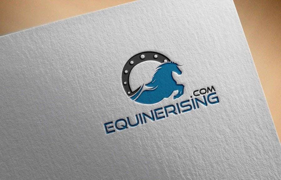 Kilpailutyö #225 kilpailussa New logo needed for equestrian marketplace website: EquineRising.com