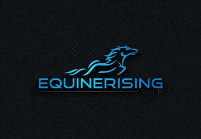 #256 for New logo needed for equestrian marketplace website: EquineRising.com by CircleDesign24