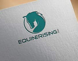 #197 for New logo needed for equestrian marketplace website: EquineRising.com by applelogo