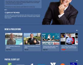#14 for Design an exciting website for a motivational speaker by maxmediapixels