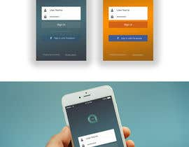 #15 for Design an App Splash Screen and Login Screen by YngDznR