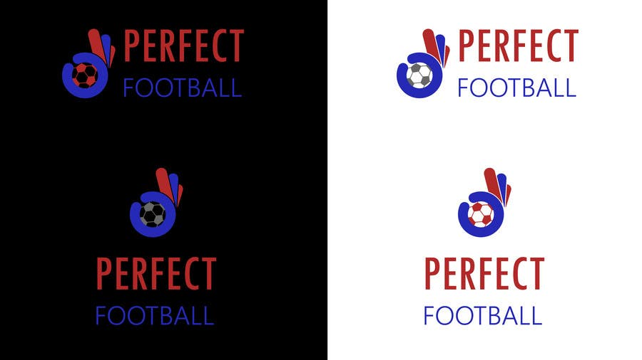 Proposition n°3 du concours Perfect Football (An Academy and a Methodology) Logo Design