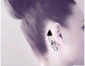 #19 for Behind the Ear Tattoo by deatharg