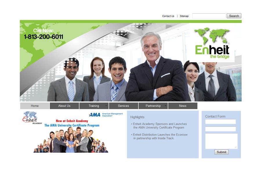 Penyertaan Peraduan #                                        15                                      untuk                                         Letterhead, business card and envelop package design for Enheit