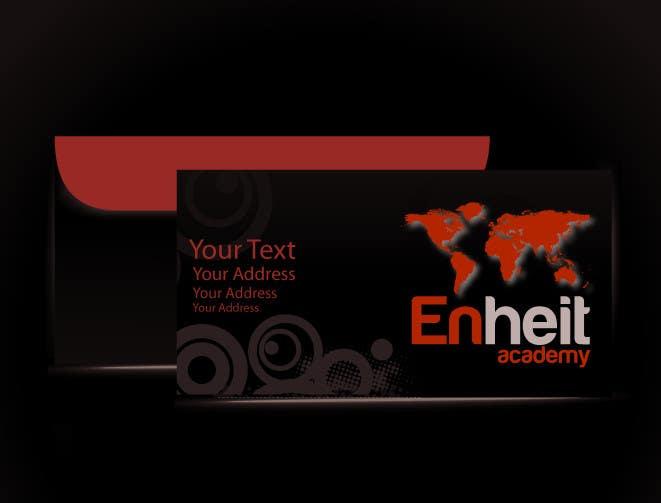 Bài tham dự cuộc thi #                                        2                                      cho                                         Letterhead, business card and envelop package design for Enheit