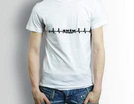 nº 5 pour Simple T-Shirt Design heart cam barbell with kettlebell par somirdn
