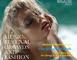 nº 11 pour Fashion Magazine Design par felixdidiw