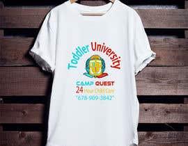 nº 12 pour Todd U Summer Camp T-Shirt par PrinceKamrul
