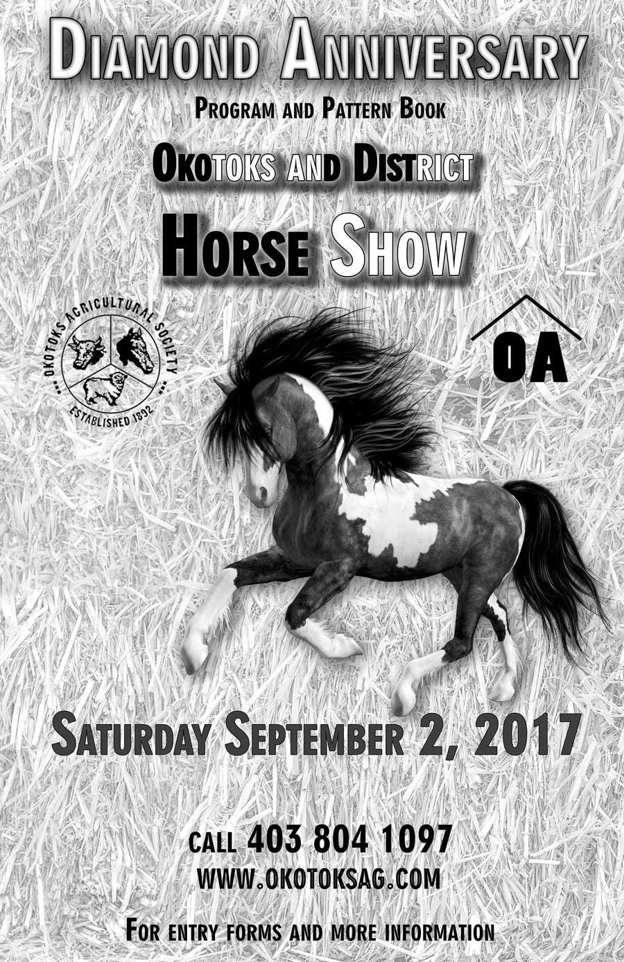Proposition n°1 du concours Okotoks & District Horse Show Program and Pattern Book