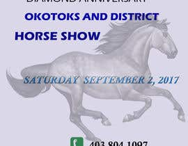 nº 2 pour Okotoks & District Horse Show Program and Pattern Book par buleeye99
