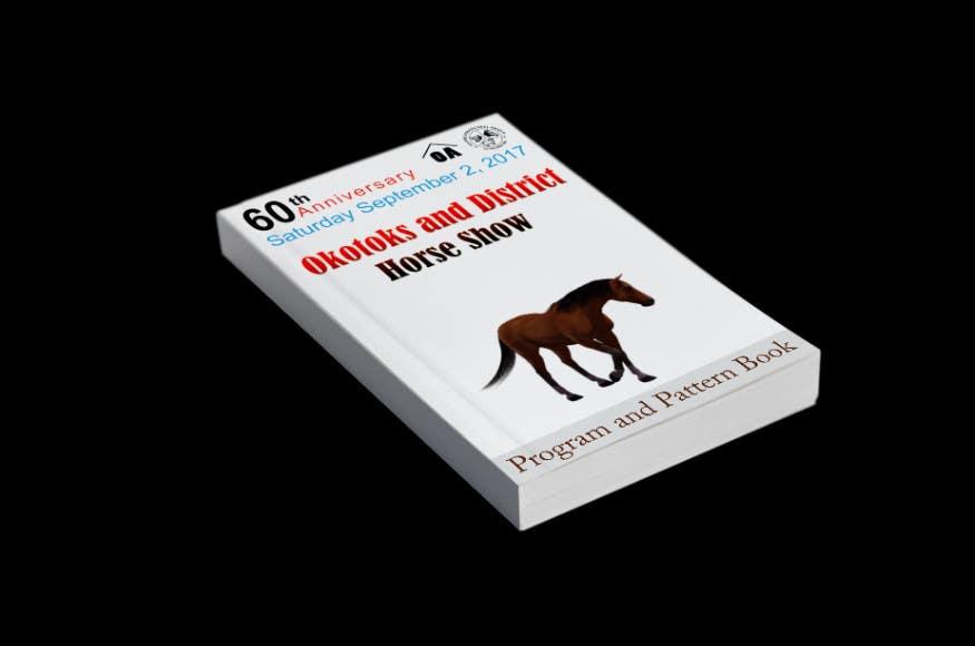 Proposition n°9 du concours Okotoks & District Horse Show Program and Pattern Book