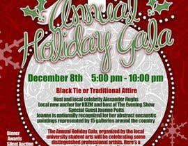 #1 para Print & Packaging Design for Full color, eye catching poster & event ticket for a HOLIDAY GALA por richhwalsh