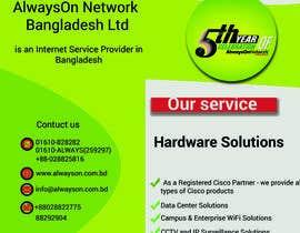 nº 43 pour Design a Flyer on our services par talhacsewub