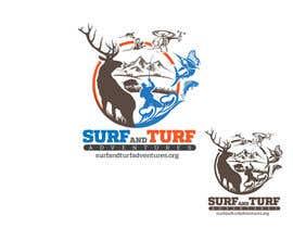 Nro 412 kilpailuun Logo for surfandturfadventures.org käyttäjältä maofmr2013