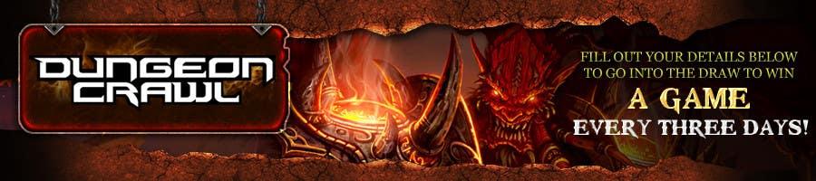 Penyertaan Peraduan #                                        101                                      untuk                                         Banner Ad Design for Dungeon Crawl