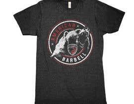Nro 171 kilpailuun Design a T-shirts for American Barbell - 10 designs needed käyttäjältä greenpeacepait
