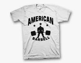 #9 for Design a T-shirts for American Barbell - 10 designs needed by Mominul2011