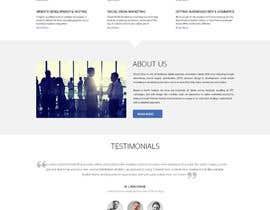 Nro 26 kilpailuun Design a Website Mockup käyttäjältä yasirmehmood490