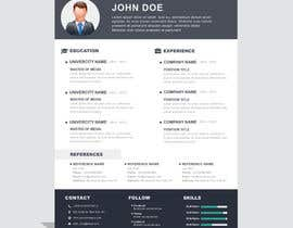 nº 8 pour i need some design for my resume par ghielzact