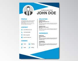 #3 for i need some design for my resume by Abdullah2222