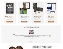 Nro 8 kilpailuun Design a Website Mockup käyttäjältä sharpensolutions