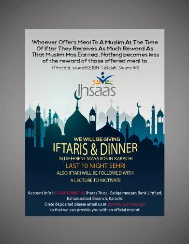 Kilpailutyö #                                        38                                      kilpailussa                                         Ihsaas Trust Ramazan Iftari Program