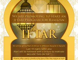 #25 for Ihsaas Trust Ramazan Iftari Program by nabeelrjt
