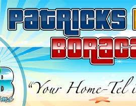 chaselibrado tarafından Design a Banner for Patrick's Home Boracay için no 1
