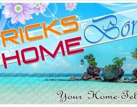 chaselibrado tarafından Design a Banner for Patrick's Home Boracay için no 36