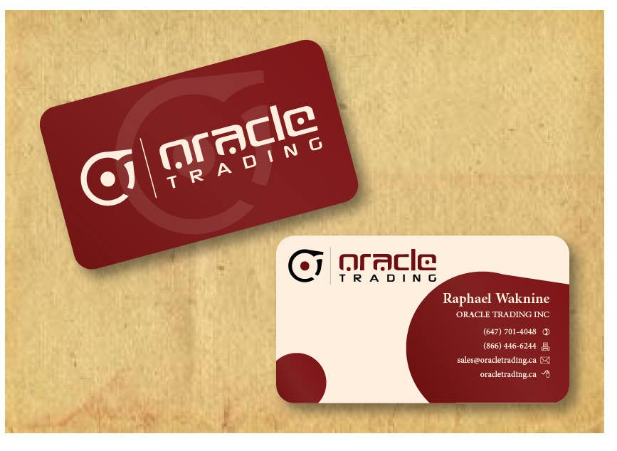 Entry 28 by jobee for business card letterhead design for oracle contest entry 28 for business card letterhead design for oracle trading inc colourmoves
