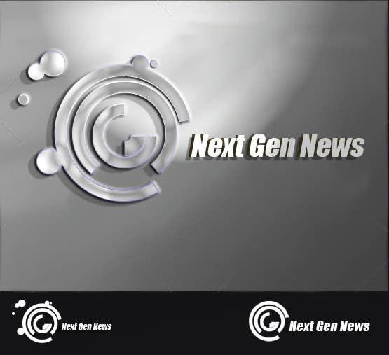 "Intrarea #90 pentru concursul ""Logo Design for NextGenNews"""