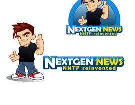 #75 para Logo Design for NextGenNews por caesar88caesar