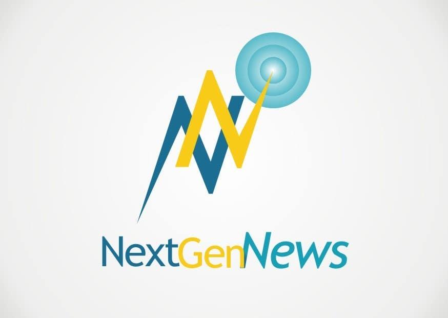 "Intrarea #41 pentru concursul ""Logo Design for NextGenNews"""