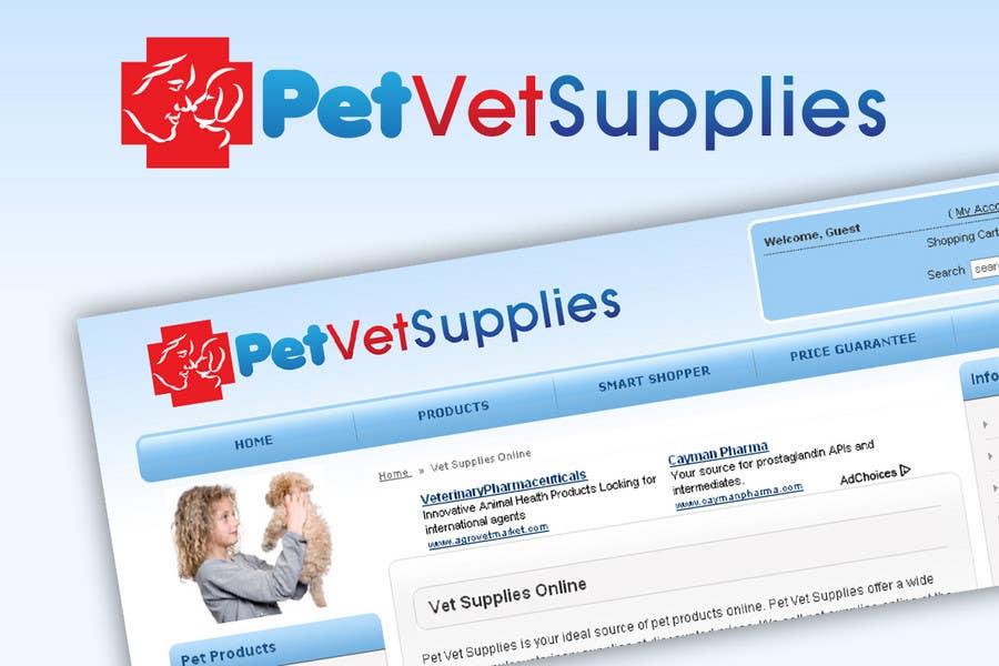 Конкурсная заявка №114 для Logo Design for Pet Vet Supplies